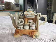 Pottery & China Search For Flights Paul Cardew Design Collectable Teapot Stove