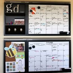 These command center tutorials from Hometalk bloggers are a great way to add organization to your daily plans and tasks!