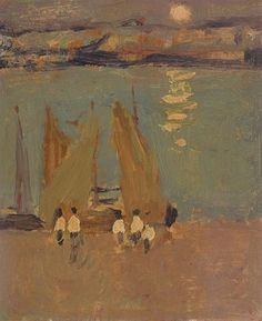 James Wilson Morrice, Fishing Boats
