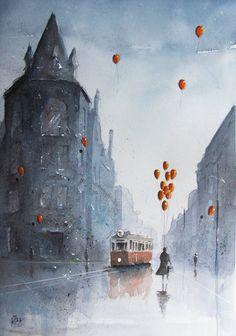 http://www.deviantart.com/art/The-dreamseller-in-Chorzow-587694676
