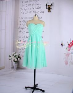 Short Mint Bridesmaid Dress/Simple Custom by AnnaCustomDress, $69.00