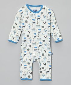 Love this Natural Farm Playsuit - Infant, Toddler & Boys on #zulily! #zulilyfinds