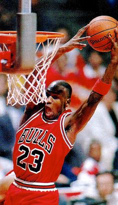 Michael Jordan late 1900s teaches me to never give up and work as hard as you can
