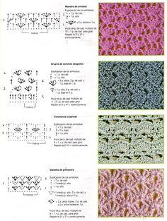 tons of free crochet stitch patterns