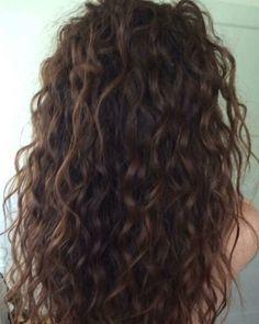 Resultado de imagen para permanente ondulada Korean Hairstyles Women, Redhead Hairstyles, Wedge Hairstyles, Straight Hairstyles, Loose Curl Perm, Loose Curls, Long Curly Hair, Curly Hair Styles, Natural Hair Styles