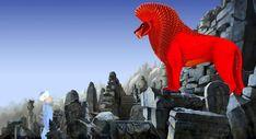 Azur & Asmar (2006) - Le lion écarlate dans les ruines puniques