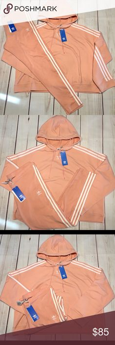 adidas Sport ID Printed Crop Damen Hoodie, Größen Textil:L
