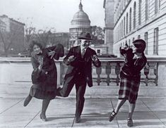 Roaring 1920's Dance Styles - Charleston, Fox Trot, Texas Tommy