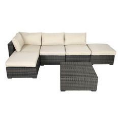 6 Piece Selma Patio Seating Group