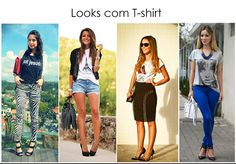look with tee