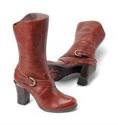 26e1da6274ec The Born Crown Nuri mid-calf boot with crisscross buckle detail.