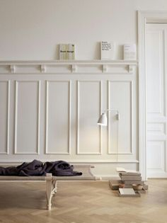 3 Conscious Clever Hacks: Wainscoting Beadboard Kitchen Cabinets wainscoting grey board and batten.Wainscoting Height Kitchen Cabinets wainscoting dining room old houses.Wainscoting Board And Batten Entryway. Caravaggio, Dining Room Wainscoting, Wainscoting Ideas, Faux Wainscoting, Wainscoting Nursery, Wainscoting Height, Bathroom Beadboard, Bathroom Vanities, Berlin Design