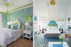 Left: Interior by Dyfari Interiors\|Right: House Beautiful