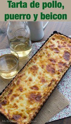 Quiches, Bacalhau Recipes, Gourmet Recipes, Cooking Recipes, Great Recipes, Favorite Recipes, Salty Foods, Asparagus Recipe, Ketogenic Recipes