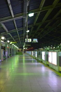 Korean subway station