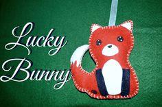 Volpe in feltro !  (cercate su facebook LuckyBunny!!)