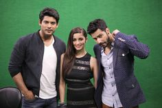 Varun Dhawan and Alia Bhatt stopped by at the India Today Mediaplex along with their co-star Siddharth Shukla to promote 'Humpty Sharma Ki Dulhaniya'.