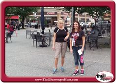 Thrill of the Hunt developed  administered to the ECHO Real Estate company outing, a scavenger hunt in Pittsburgh, PA 6/25/14 #ThrillofHunt