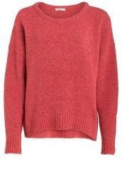 Oversized pullover roze | Anna