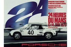 24 heures du Mans 1970 - Porsche 914/6 GT #40- Pilotes : Guy Chasseuil / Claude Ballot-Lena - 6ème