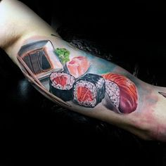 50 Sushi Tattoo Designs For Men