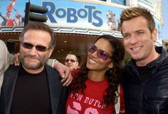 Robin Williams, Halle Berry & Ewan McGregor