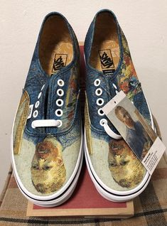 96343af2e574 Details about New VANS x Vincent Van Gogh Museum Self Portrait Lace Up  special offer