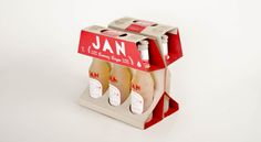 Jan Craft Beer by Wanda Priem, via Behance