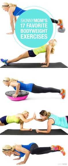 You have to try these 17 total body fitness moves that Skinny Mom loves!