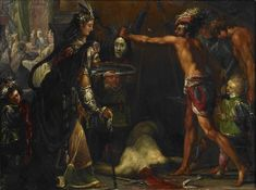 Salome Receives the Head of John the Baptist Claude Vignon, c. 1624