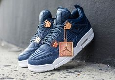 Nike Air Jordan 4 Retro Premium IV Pinnacle Obsidian Gold Mens 11 for sale online Me Too Shoes, Men's Shoes, Nike Shoes, Shoes Sneakers, Converse All Star, Tenis Basketball, Yeezy, Baskets, Nike Air Jordans
