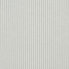 Honey Dew and White Ticking Stripes Cotton Upholstery Fabric by the Yard