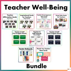 Our educators are our valuable assets in school. The well-being of our educators is very important as much as the well-being of our students.We have come up with a variety of well-being resources to help promote a positive, healthy, and happy work environment for our teachers. These resources are a ...