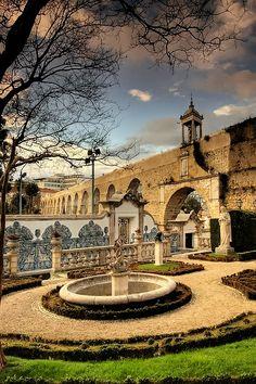 Jardim da Casa Museu Bissaya Barreto em Coimbra