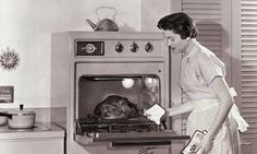 cooking a turkey in the past was more time consuming maybe