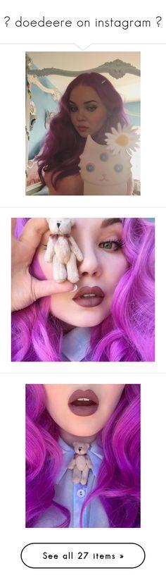 """♡ doedeere on instagram ♡"" by jiminslefteyebrow ❤ liked on Polyvore featuring jewelry, earrings, deer jewelry and deer earrings"