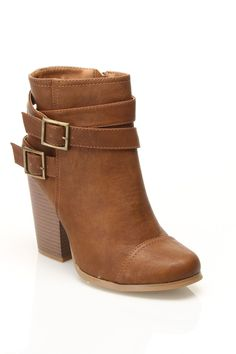 Buckle Boots / Wild Diva $15  Hmmm, can a grandma wear these?