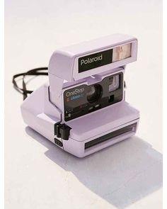 Vintage Camera Lavender Polaroid 600 Close-Up Instant Camera