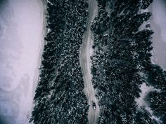 La photographie aérienne de Tobias Hagg - Sens unique