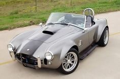 The sky is the limit  with customized paint and interior paint in our Shelby Cobra kit cars.