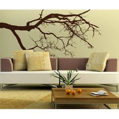 Vinyl Wall Decal Sticker Tree Top Branches Item780s  by Stickerbrand  $34.95