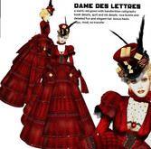 Grim Bros. Dames des Lettres gown - victorian steampunk gown