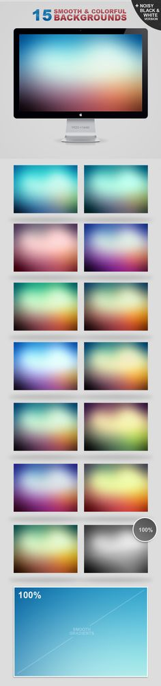15 Free Soft Backgrounds
