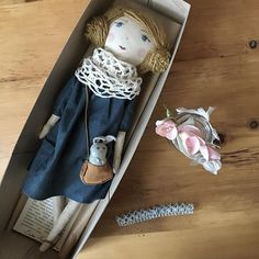 a lady can never have too many hair accessories. last doll of 2016 heading out..  back to rabbit making...