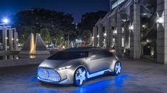 Mercedes-Benz is doing something weird for the Tokyo Motor Show, as usual. Its new Vision concept is called the Connected Lounge and it looks like a discoteca/minivan in glossy gray. We'll ...