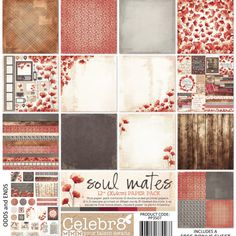Celebr8 Soul Mates Film Strip, Soul Mates, Loving Someone, Earthy, Poppies, Things To Come, Scrapbook, Crafts, Collections