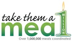 Today, we are humbled by the remarkable way you have cared for your friends and we're proud to let you know that you've reached a milestone.  One meal warms a heart and together, you have coordinated 1 MILLION MEALS.  (3/26/12)  #TakeThemAMeal.com