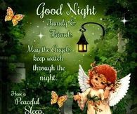 Goodnight Family And Friends Have A Peaceful Sleep