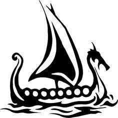 tiny viking ship tattoo - Google Search