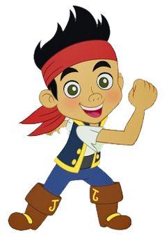 cartoon y comic en png: jake y los piratas de nunca jamas .png